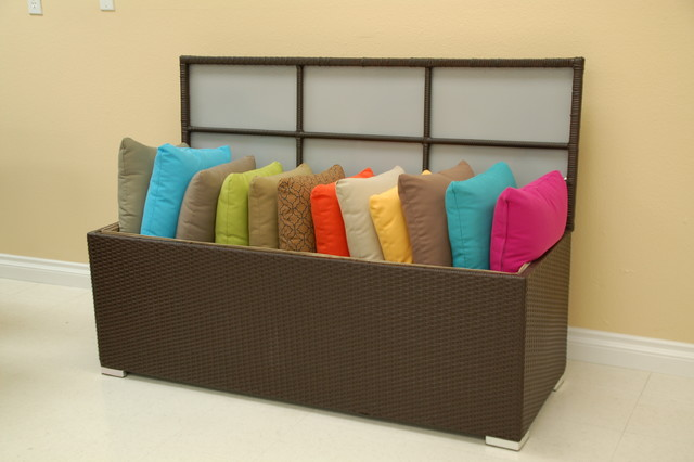Patio Furniture Accessories Outdoor Pillow Storage Box