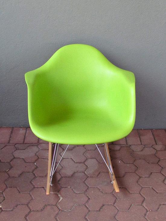 Green Molded Rocker -