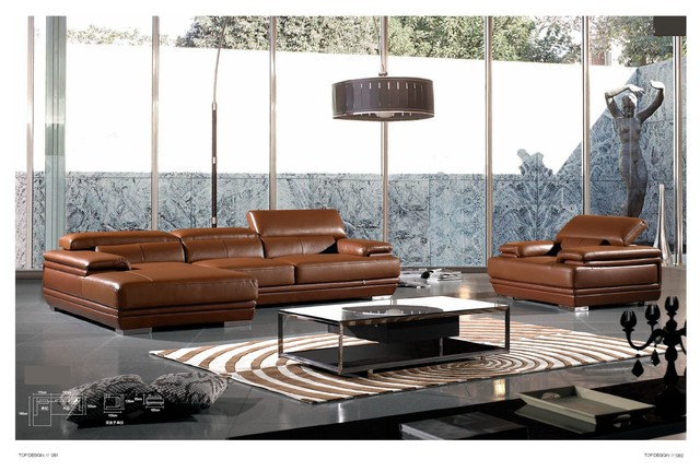 Borneo Italian Leather Sectional Sofa Modern Sectional Sofas Los Angele