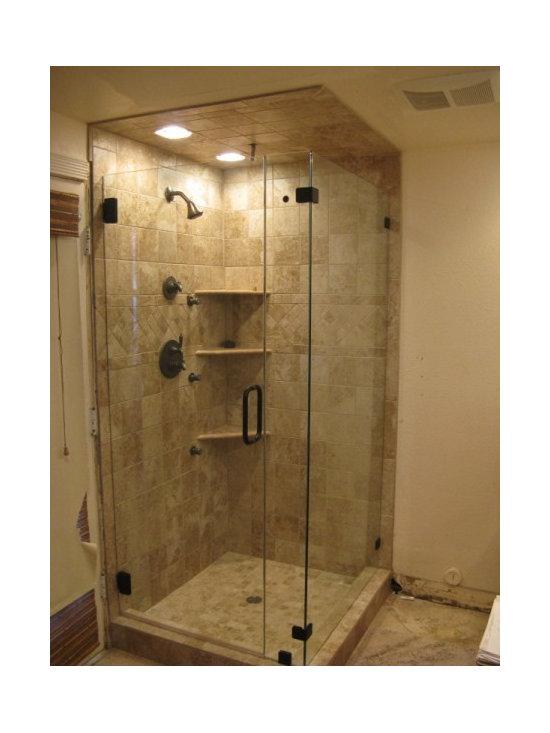 Shower Door Enclosures - Corner Style Shower Door