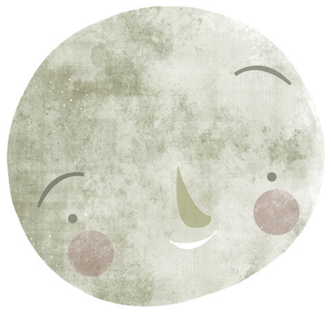 The Moon by Luke Brookes contemporary-kids-decor