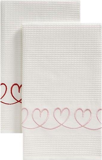 Set of 2 Valentine Dishtowels eclectic-dish-towels