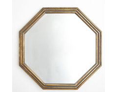 Gilded Octagon Mirror traditional mirrors