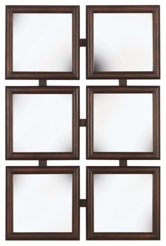 Other Brand Names Kelly Wall Mirror - 9.5W x 9.5H in. contemporary-mirrors