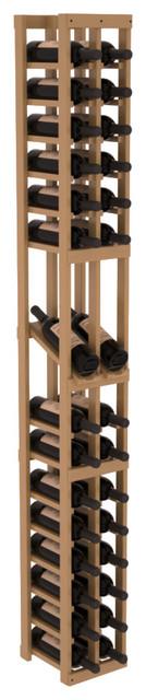 2 Column Display Row Wine Cellar Kit in Pine, Oak + Satin Finish contemporary-wine-racks