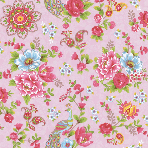 Pink Turquoise Girly Chic Floral Paisley Pattern Rug By: Pink Paisley Floral Wallpaper