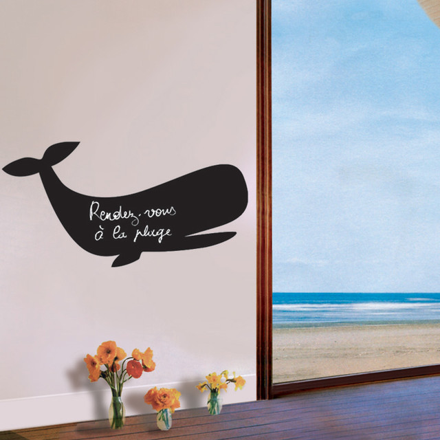 Giant Animal Chalkboard Wall Stickers Product Detail eclectic kids decor