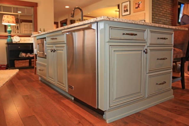 fieldstone cabinetry remodel eclectic kitchen