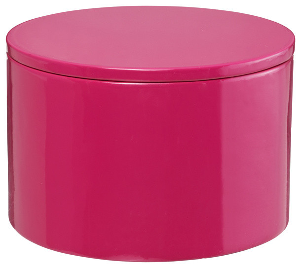 Round Decorative Boxes: Round Lacquered Box