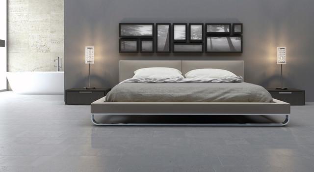 Modern Platform Bed 640 x 350