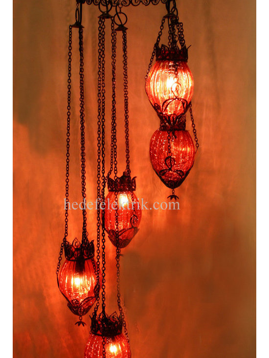 Turkish Style - Mosaic Lighting - Code:  HE-94527_01