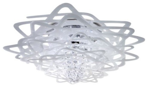 Aurora Flushmount - contemporary - ceiling lighting - by Lumens