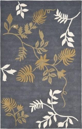 Soho Dark Grey Rug modern-rugs