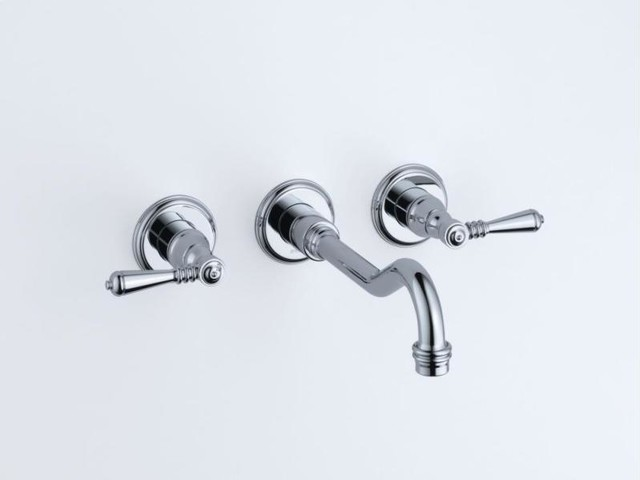 Brizo Tresa Two Handle Wall-mount Faucet - transitional - bathroom