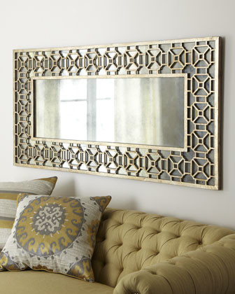 Champagne Overlay Mirror - Traditional - Mirrors - by Horchow