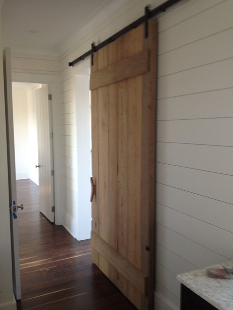 Cypress Barn Door - Modern - Interior Doors - charleston - by BCW Inc