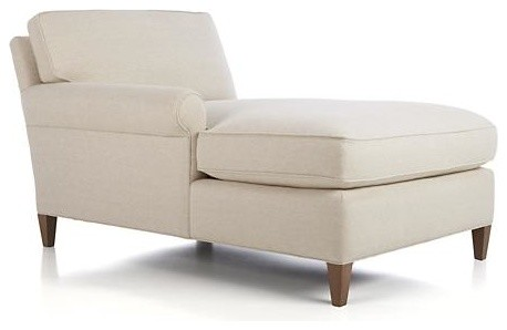 Montclair Left Arm Sectional Chaise Contemporary Indoor Chaise Lounge Cha