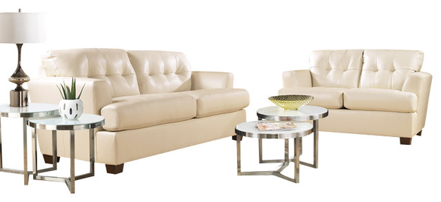 Signature Design by Ashley DuraBlend?-Ivory Living Room Set contemporary-sofas