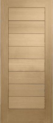 Oak External Door, Modena Oak Door [BKB] contemporary-windows-and-doors