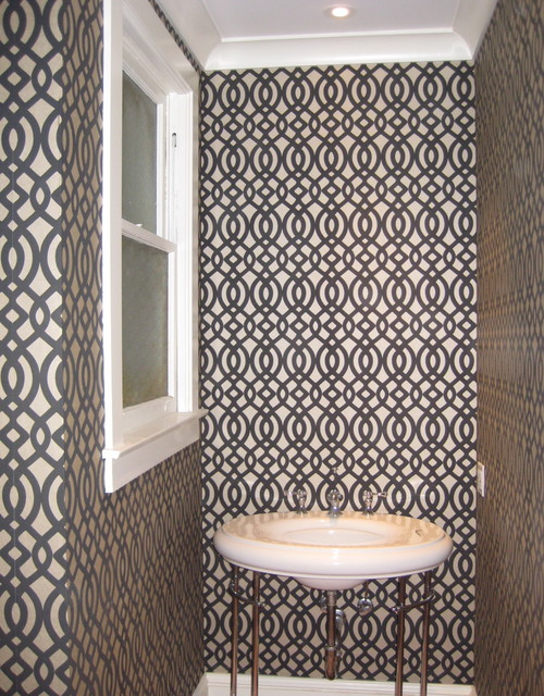 Powder Room contemporary-bathroom