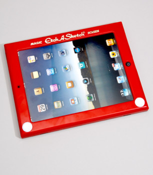 Etch-A-Sketch iPad Cover eclectic accessories and decor