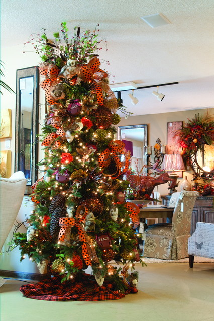 Decorating Ideas > Tree Decorating Services  Traditional  Christmas  ~ 213040_Houzz Christmas Decorating Ideas