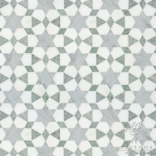 Stone Mosaic eclectic-tile