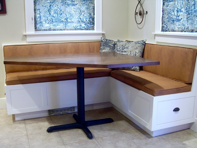 Corner Banquette and Table - Traditional - Dining Tables - denver - by Todd A. Clippinger ...