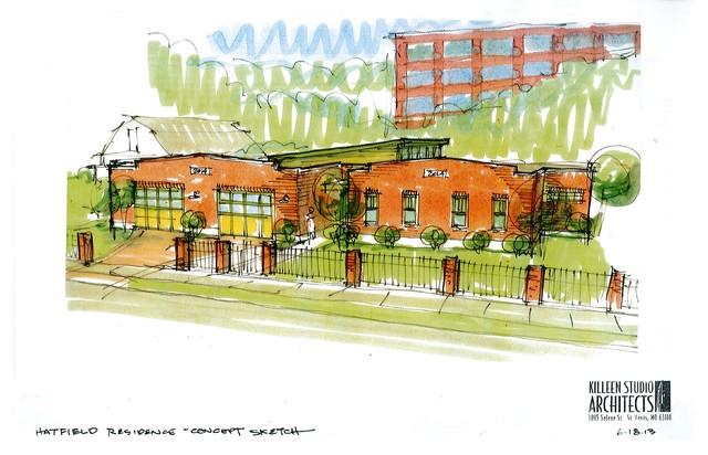 Hatfield traditional-rendering