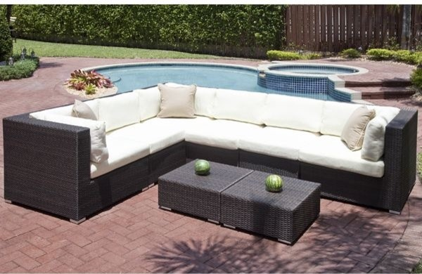Edge Collection Outdoor Sectional Sofa Outdoor Sofas chicago by Home In