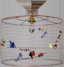 La Voliere Pendant Lamp eclectic-pendant-lighting