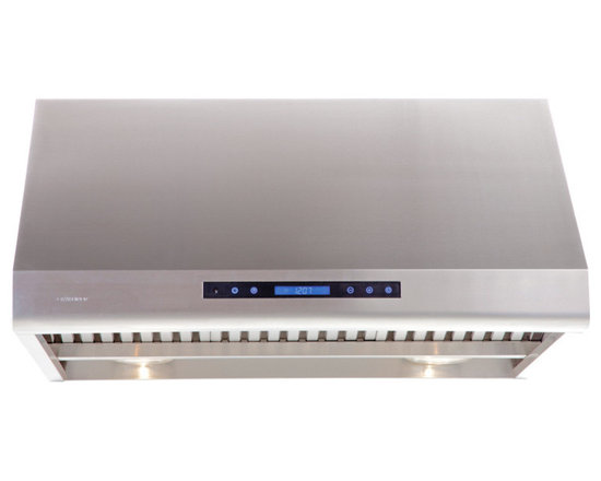 "Cavaliere - Cavaliere AP238-PS83 30"" Under Cabinet Range Hood - Cavaliere Stainless Steel 360W Under Cabinet Range Hood with 4 Speeds, Timer, LCD Keypad, Stainless Steel Baffle Filters, Heat Lamps & Halogen Lights"