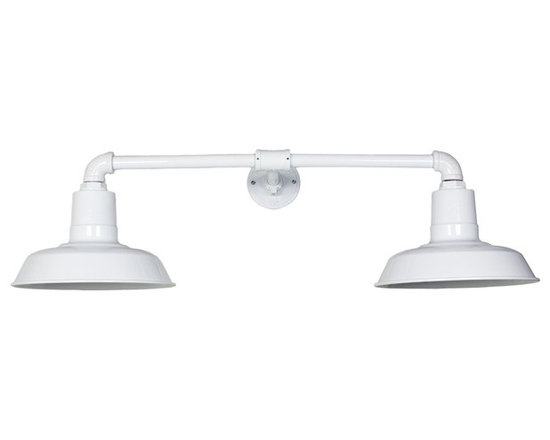 The Dual Arm Warehouse Sign Light -