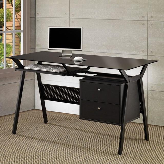 Black Casual Desk modern-desks