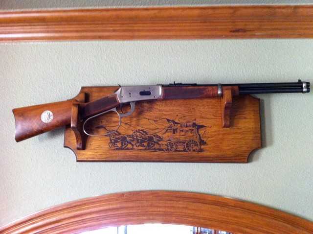 Gun Rack Displays - Traditional - dallas - by Specialty Woodworks Services
