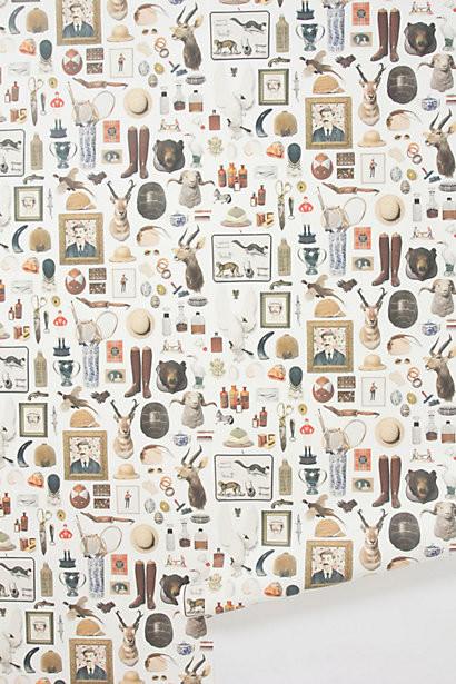New Antiquitarian Wallpaper eclectic-wallpaper