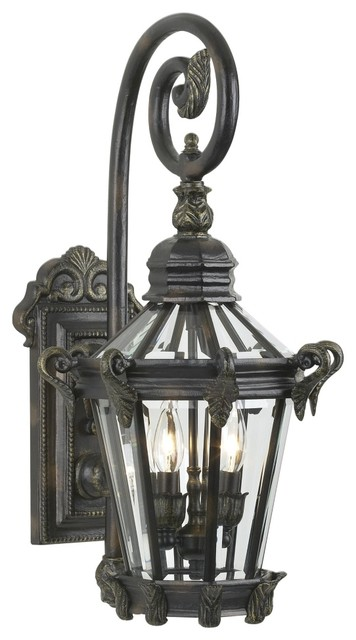 "Traditional Stratford Hall Collection 25 1/4"" High Outdoor Wall Light traditional outdoor lighting"