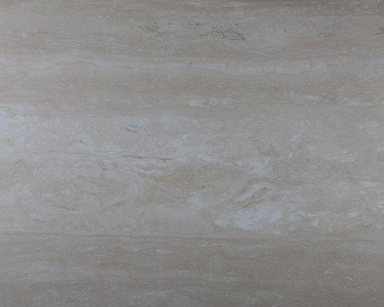 Travertino Novana - Travertino Novana slab available in a filled or polished finish