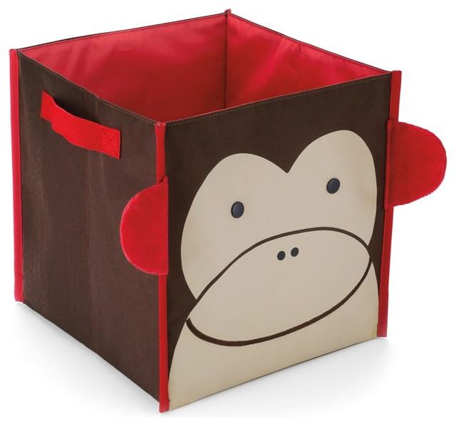 Skip Hop Zoo Storage Bin, Monkey eclectic-toy-storage