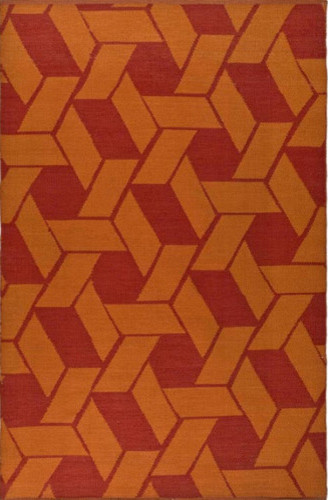 Thom Filicia Saddle Blood/Orange Rug modern-rugs