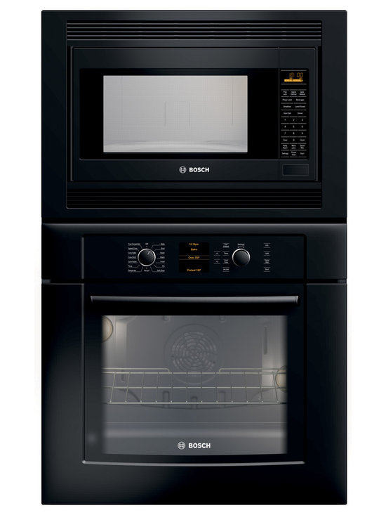"Bosch 30"" Combination Wall Oven With Convection, Black 