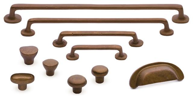 Sedona rustic bronze cabinet hardware traditional-home-improvement