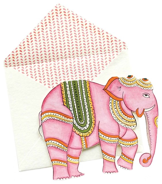Elephant Cards by John Robshaw eclectic desk accessories