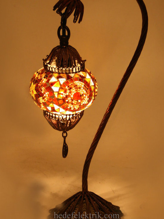 Turkish Style - Mosaic Lighting - Code: HD-97206_36