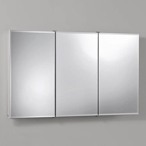 Broan-Nutone Ashland Tri-View 48W x 28H in. Surface Mount Medicine Cabinet 75529 - Traditional ...