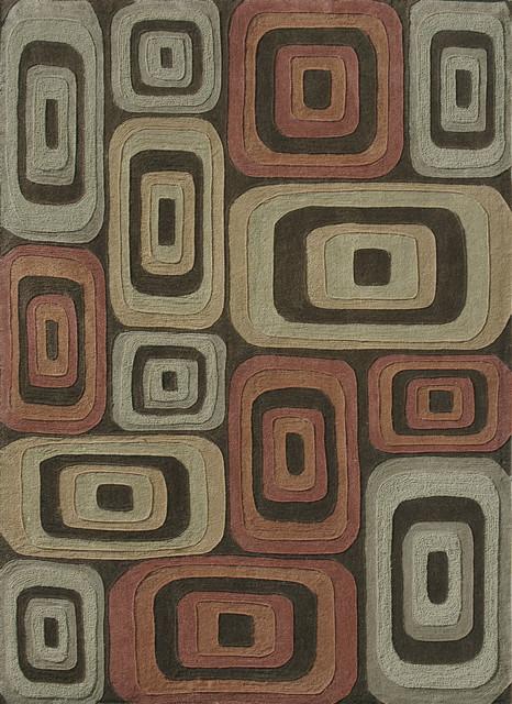 "Loloi Grant GR-08 3'6"" x 5'6"" Multi Rug contemporary-rugs"