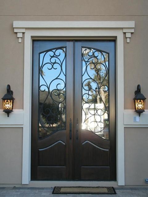 Elegant entryways mediterranean front doors