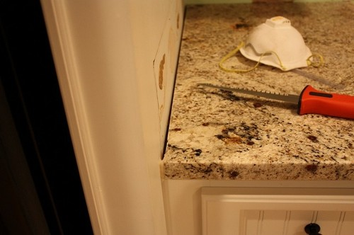 Granite Countertop Gaps Poor Install