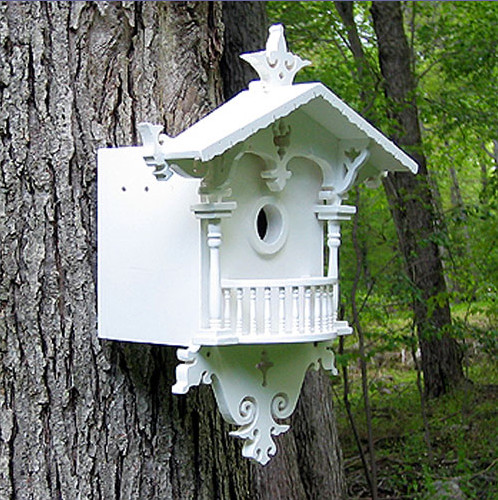 Cuckoo Cottage for Bluebirds modern-birdhouses