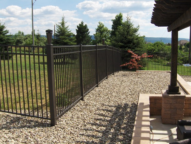 Sterling Aluminum Fence (Residential Fencing) traditional